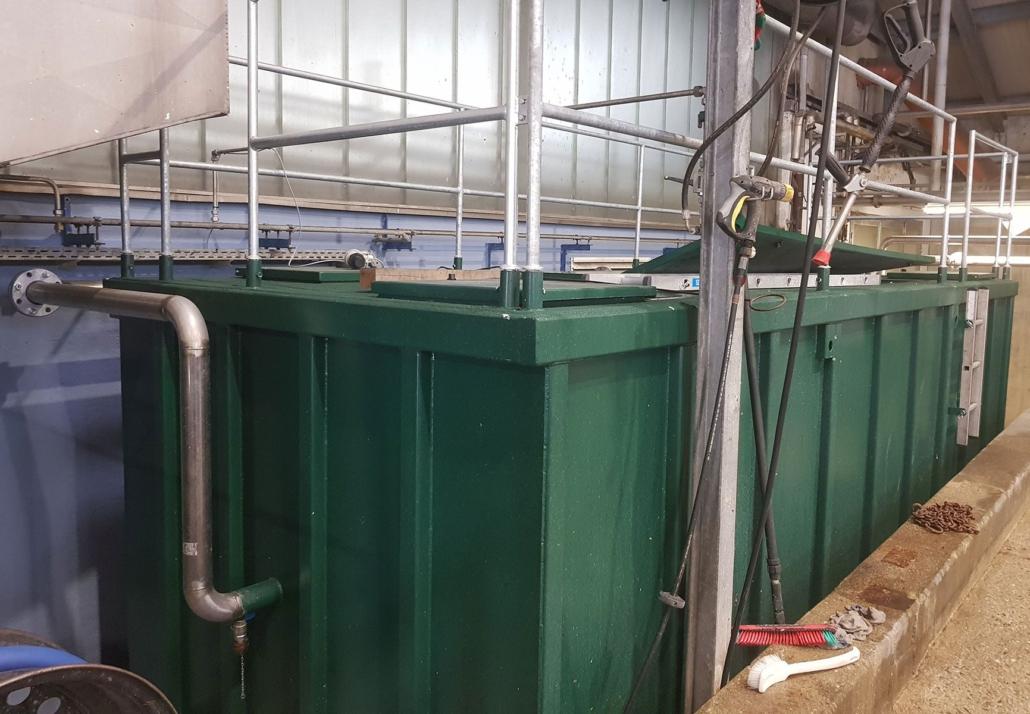edg-Entwässerungscontainer   Container